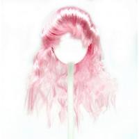 """Pako 28527 Парик """"Волнистый"""" для кукол П 50, цв.Розовый"""
