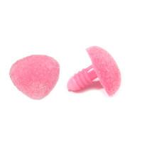 Прочие 7708430 Носик винтовой бархатный 19*16мм, уп.2шт., розовый