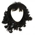 7708433 Волосы для кукол (локоны), цвет - черные