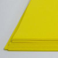 Crystal Art №112 желтый, фоамиран иранский, 15*20 см, 10 шт/упак №112 желтый, фоамиран иранский, 15*20 см, 10 шт/упак