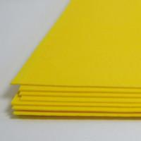 Crystal Art №118 темно-желтый, фоамиран иранский, 15*20 см, 10 шт/упак №122 темно-желтый, фоамиран иранский, 15*20 см, 10 шт/упак