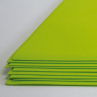 Crystal Art №119 желто-зеленый, фоамиран иранский, 15*20 см, 10 шт/упак №119 желто-зеленый, фоамиран иранский, 15*20 см, 10 шт/упак