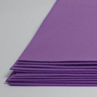 Crystal Art №157 фиолетовый, фоамиран иранский, 15*20 см, 10 шт/упак №157 фиолетовый, фоамиран иранский, 15*20 см, 10 шт/упак
