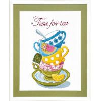 Crystal Art Набор для вышивания Crystal Art® ВТ-0005 Time for tea Набор для вышивания Crystal Art® ВТ-0005 Time for tea
