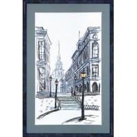 Crystal Art Набор для вышивания Crystal Art® ВТ-0009 Таинственный город Набор для вышивания Crystal Art® ВТ-0009 Таинственный город