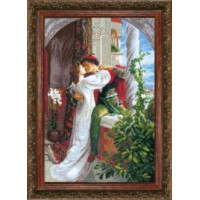 Crystal Art Набор для вышивания Crystal Art® ВТ-0034 Ромео и Джульетта Набор для вышивания Crystal Art® ВТ-0034 Ромео и Джульетта
