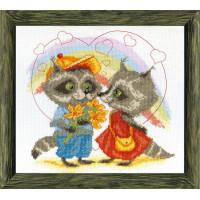 Crystal Art Набор для вышивания Crystal Art® ВТ-0040 Первая любовь Набор для вышивания Crystal Art® ВТ-0040 Первая любовь