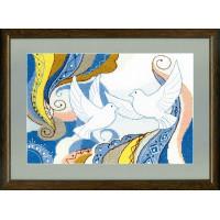 Crystal Art Набор для вышивания Crystal Art® ВТ-0050 Вестники небес Набор для вышивания Crystal Art® ВТ-0050 Вестники небес