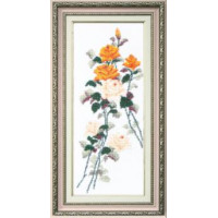 Crystal Art Набор для вышивания Crystal Art® ВТ-0052 Этюд с желтыми розами Набор для вышивания Crystal Art® ВТ-0052 Этюд с желтыми розами