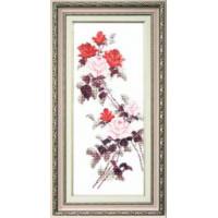 Crystal Art Набор для вышивания Crystal Art® ВТ-0053 Этюд с красными розами Набор для вышивания Crystal Art® ВТ-0053 Этюд с красными розами