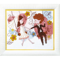 Crystal Art Набор для вышивания Crystal Art® ВТ-0069 Веселая свадьба Набор для вышивания Crystal Art® ВТ-0069 Веселая свадьба