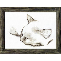 Crystal Art Набор для вышивания Crystal Art® ВТ-0071 Спящий котик Набор для вышивания Crystal Art® ВТ-0071 Спящий котик