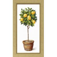 Crystal Art Набор для вышивания Crystal Art® ВТ-0075 Лимонное дерево Набор для вышивания Crystal Art® ВТ-0075 Лимонное дерево