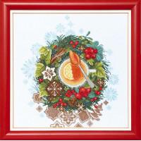 Crystal Art Набор для вышивания Crystal Art® ВТ-0079 Рождественский чай Набор для вышивания Crystal Art® ВТ-0079 Рождественский чай