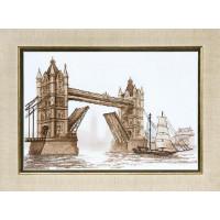 Crystal Art Набор для вышивания Crystal Art® ВТ-0087 Лондон. Тауэрский мост Набор для вышивания Crystal Art® ВТ-0087 Лондон. Тауэрский мост