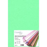 Crystal Art (Украина) 180_2030_ФОМ ЭВА Фоамиран, лаймовый