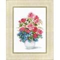Crystal Art (Украина) ВТ-023 Розы и незабудки