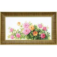 Crystal Art (Украина) ВТ-090 Благоухание летних роз