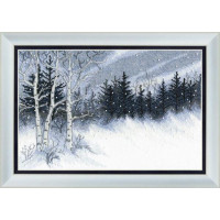 Crystal Art (Украина) ВТ-099 Зимняя ночь