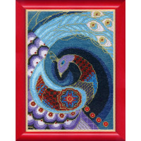 Crystal Art (Украина) ВТ-1019 Синяя птица счастья