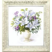 Crystal Art (Украина) ВТ-141 Букет с белыми лилиями