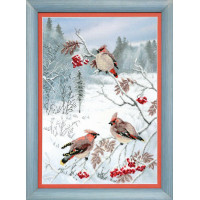 Crystal Art (Украина) ВТ-528 Зимнее лакомство