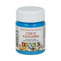 """DECOLA  """"DECOLA"""" Краска по стеклу и керамике 50 мл 4028512 небесно-голубая"""