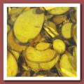 7708972 Декоративные элементы, цвет: желтый