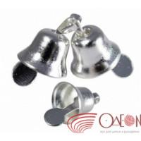 Прочие ВА-00015798 Колокольчик 22 мм (серебро), уп.20 шт.