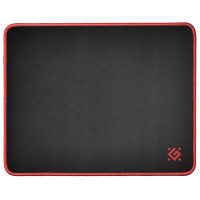 DEFENDER 50560 Коврик для мыши игровой DEFENDER Black M, ткань + резина, 360x270x3 мм, черный, 50560