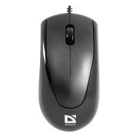 DEFENDER 52150 Мышь проводная DEFENDER Optimum MB-150, РАЗЪЕМ PS/2, 2 кнопки + 1 колесо-кнопка, оптическая, черная, 52150