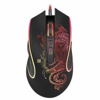 DEFENDER 52640 Мышь проводная игровая DEFENDER Venom GM-640L, USB, 7 кнопок + 1 колесо-кнопка, оптическая, черная, 52640