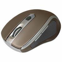 DEFENDER 52678 Мышь беспроводная DEFENDER Safari MM-675, USB, 5-кнопок+1 колесо-кнопка, оптическая, коричневая, 52678