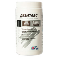ДЕЗИТАБС ДТ-1-300 Средство дезинфицирующее 1 кг, ДЕЗИТАБС, таблетки 300 шт., ДТ-1-300