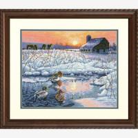 "Dimensions 00000064888 70-35304 Набор для вышивания ""Dimensions"" Winter Morning/Зимнее утро"