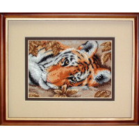 """Dimensions DMS-65056 Набор для вышивания «Dimensions» 65056 """"Привлекательный тигр"""" 18 x 13 см"""
