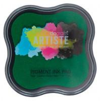 """Docrafts DOA550101 Подушка штемпельная """"Docrafts"""" DOA550101 пигментная,  цвет зеленый"""