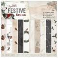 Docrafts PMA160948 Набор бумаги для скрапбукинга Festive Fauna
