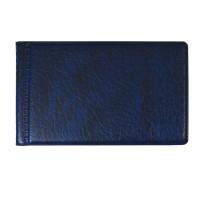 ДПС 2054-101 Визитница однорядная на 28 визитных, дисконтных или кредитных карт, синяя, 2054-101