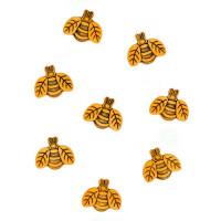 Dress It Up 0735_1 Набор декоративных пуговиц «Dress It Up» 0735 Большие пчелы