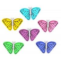 "Dress It Up 4820_DIU Набор декоративных пуговиц ""Бабочки на закате"""