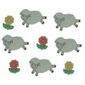 """Dress It Up 5798_DIU Набор декоративных пуговиц  """"Считай овец"""""""