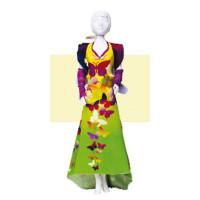 "DressYourDoll  Набор для изготовления игрушки ""DressYourDoll"" Одежда для кукол №2 S212-0802 Mary Butterfly"