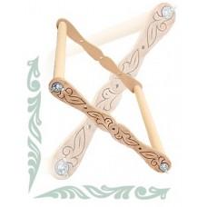 Пяльцы-рамка, регулируемые для вышивания крестом и бисером (арт. RM30-45)