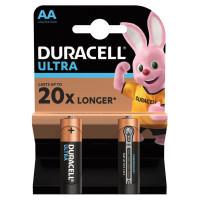 DURACELL  Батарейки КОМПЛЕКТ 2 шт., DURACELL Ultra Power, AA (LR06, 15А), алкалиновые, пальчиковые, блистер