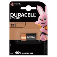 DURACELL 75058646 Батарейка DURACELL Ultra CR123, Lithium, 1 шт., в блистере, 3 В, 75058646
