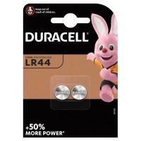 DURACELL 81488664 Батарейки DURACELL, LR44 (V13GA, 76A), алкалиновые, КОМПЛЕКТ 2 шт., в блистере, 81488664