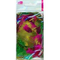 Efco 1003500 Перья цесарки, разноцветные