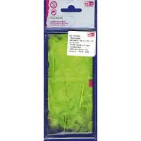 Efco 1004361 Перья марабу, 80-100 мм, цвет светло-зеленый