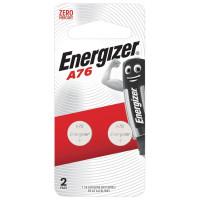 ENERGIZER 639317 Батарейки ENERGIZER, A76 (G13, LR44), алкалиновые, КОМПЛЕКТ 2 шт., в блистере, 639317